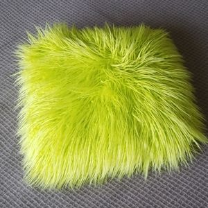 Shaggy Throw Pillow